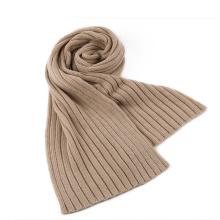 Écharpe en tricot côtelé Écharpe en boucle d'hiver (SK106)