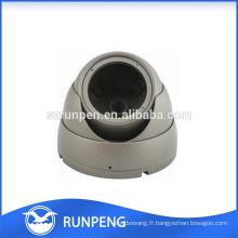 Pièces de boîtier de dôme de caméra de sécurité CCTV