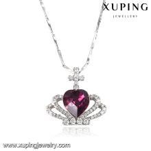 43152 Cristales elegantes con forma de corazón de Swarovski Jewelry Pendant Necklace