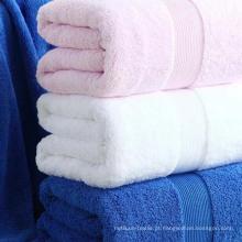 Toalha 100% algodão colorida 16s para hotéis (DPF201628)