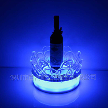 Display porta vino acrilico a led vendita calda
