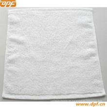 Toalha de rosto de algodão em tamanho 30 * 30cm (DPF6365)