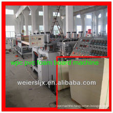 3-30mm thickness wpc foam plate making machine