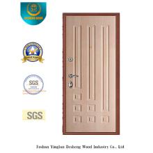 Porte en acier de style moderne pour l'intérieur ou l'extérieur (Q-1010)