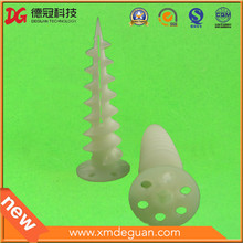 Venta al por mayor de nylon personalizado tornillo ancla Fisher plástico tapón de pared