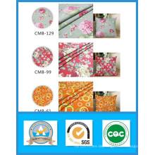 Tausend Designs Heißer Verkauf 100% Baumwolle Gedruckt Leinwand Stoff Auf Lager Gewicht 250GSM Breite 150 cm