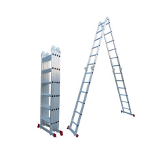 Aluminum Multi-purpose Ladder Folding ladder 4X6 with big hinge