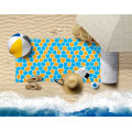 Custom High Quality Absorbent Quick Drying Non Stick Sand Microfiber OEM Custom Print 100% Polyester Beach Towels