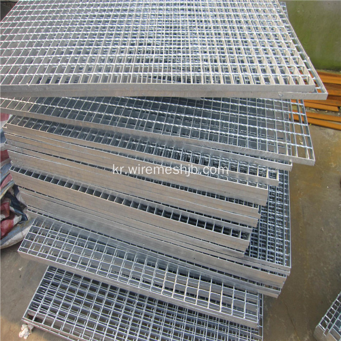 Galvanzied Steel Grating 계단 복도