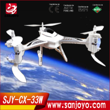 New Product 2015 CX-33W quadcopter rc drone hobby with hd/wifi camera wifi remote control ufo