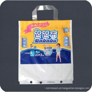 Bolsa de embalagem de higiene pessoal descartável personalizada impresso