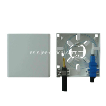 Placa frontal de 2 puertos Optic Socket / Mini Fiber Optic