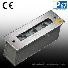 120V 3W Stainless Steel IP67 LED Step Light (JP820431)