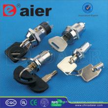 Interruptor de llave a prueba de agua Daier metal ON-OFF