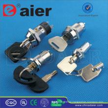 Interruptor de chave Daier metal ON-OFF à prova d 'água