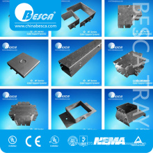 Besca New Style Popular High Quality Pre-Galvanized Electrical Wireway Pieces