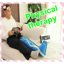 leg massage machine air compression physical therapy