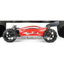 2WD rc voiture électrique, voiture de moteur brushless rc, voiture de radio 2 canaux 2,4 G