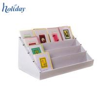 Présentoirs de cartes-cadeaux en carton de comptoir