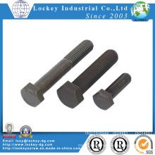 Grade 5 Carbon Steel Hex Bolt Plain