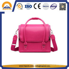 Señora rosa Popular maquillaje cosmético bolso (HB-6612)