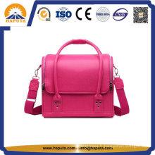 Sac à cosmétiques maquillage Pink Lady cuir populaire (HB-6612)
