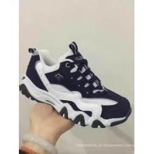 Mais recente elegante baixo preço qualidade crianças branco escola sapatos