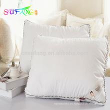 Ropa de hotel / Almohada de confort del hotel 100 almohada de fibra hueca de poliéster