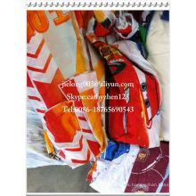 En stock telas de poliéster estampadas telas de cama