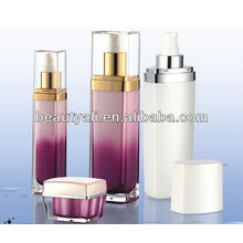 square cosmetics lotion containers