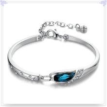 Joyería del cristal del brazalete de la manera 925 joyería de la plata esterlina (SL0029)