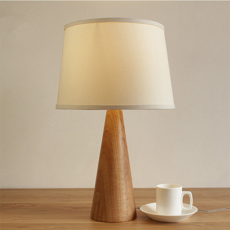 Application Modern Wooden Table Lamps