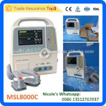 MSL8000C-i Équipement médical défibrillateur biphasique portable prix