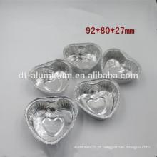 Fornecimento de fábrica em forma de coração cupcakes pan