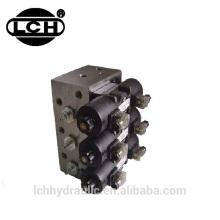 1.5kw motor tralier hydraulic power unit with 1000 ton hydraulic press