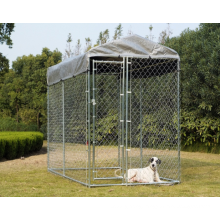 Coated Welded Pet Dog Cage (factory)iso14001 Galvanized or Pvc Pet Cages, Carriers & Houses Steel Wire for Dogs