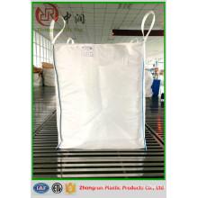 Hebei fabrica sacos súper de 1 tonelada y 1.5 toneladas para cemento, azúcar, arroz, leña, bolsa gigante de PP para grano, fertilizante orgánico