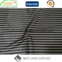 Forro de impressão 100% poliéster Stripe Pattern