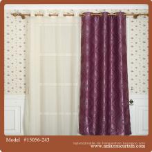 Neueste Design-Fenster Jacquard-Vorhang Stoff, neueste Dekoration Vorhang Stoff