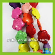 2012 Persian turquoise flower beads wholesales LTQ09