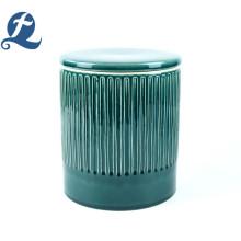 Практичная керамическая глазурь с трещинами, запечатанная банка, контейнер для конфет, чайник с крышкой