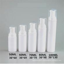 50ml 60ml 70ml 80ml 100ml en plastique mousse pompe bouteille cosmétique emballage