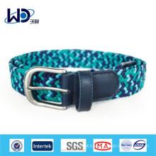 2014 Fashion blue braided belts for men