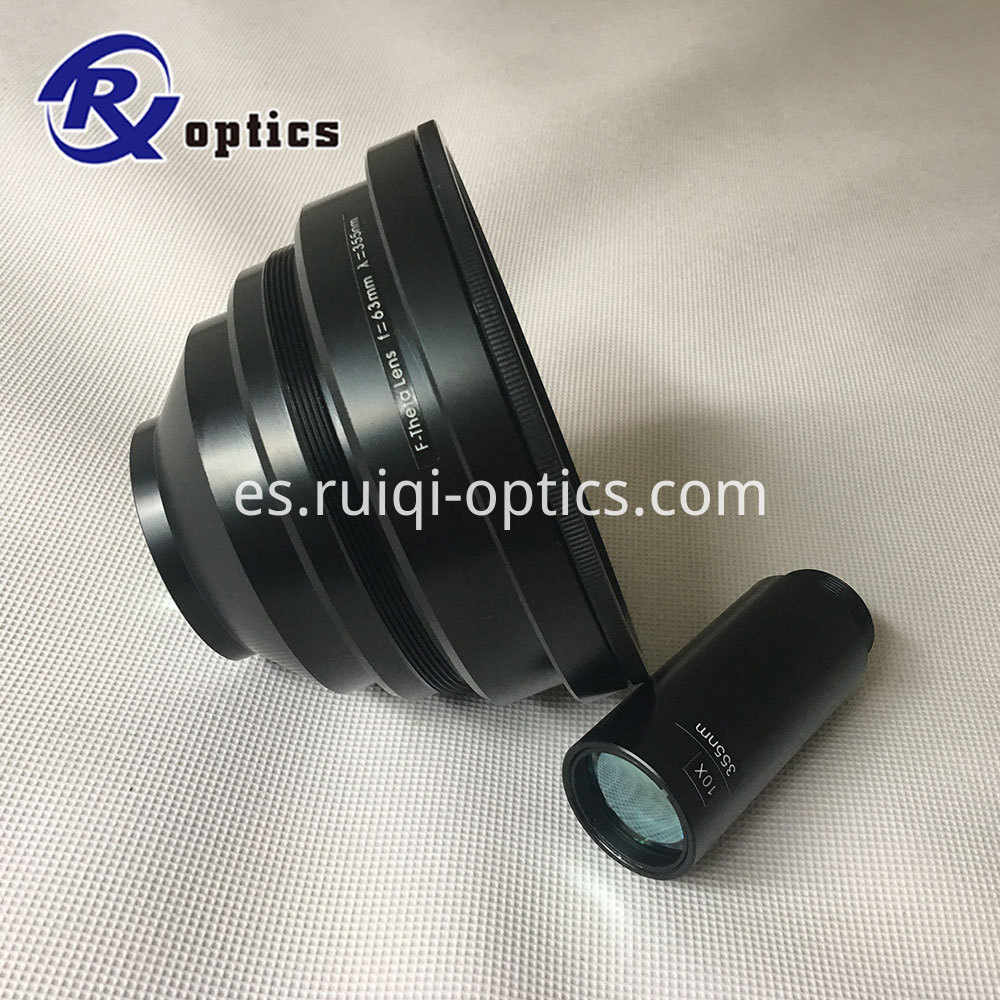 355nm scan lens and beam exapnder