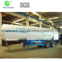 Cryogenic Liquid Tank Container with Ahf Medium