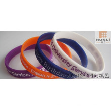 Promotion Silicone Bracelets with Debossed Logo