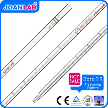 JOAN Lab Tipos diferentes de medição de pipeta de vidro de transferência
