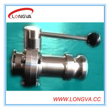 Stainless Steel Quick Coupling and Clamped Butterfly Valves