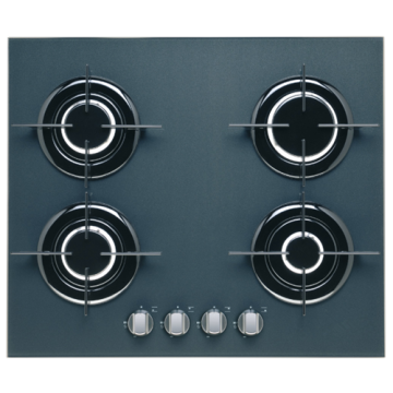 Placas de gas 60cm Smeg Australia Glass