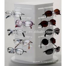 Hochwertige Acryl Sonnenbrille Vitrine mit Schloss